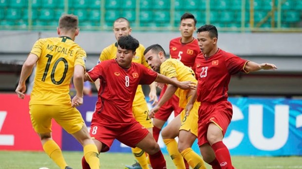 Vietnam loses to Australia, says goodbye to AFC U19 champs hinh anh 1