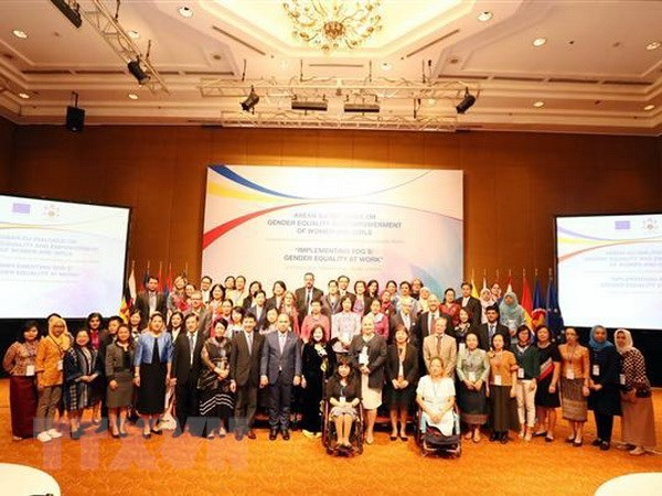 Vietnam supports ASEAN-EU partnership in gender equality hinh anh 1