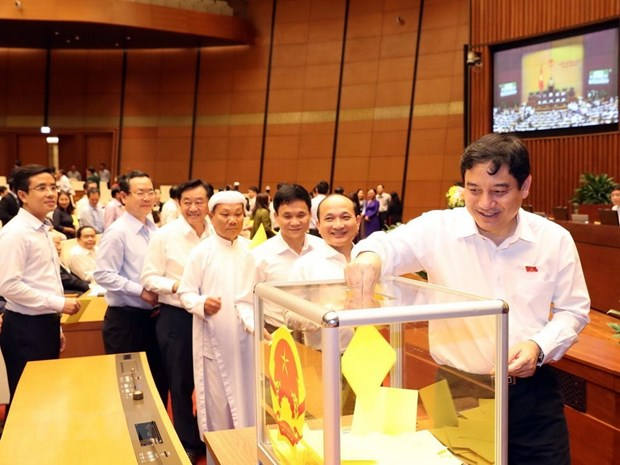 Legislators vote to elect State President hinh anh 3