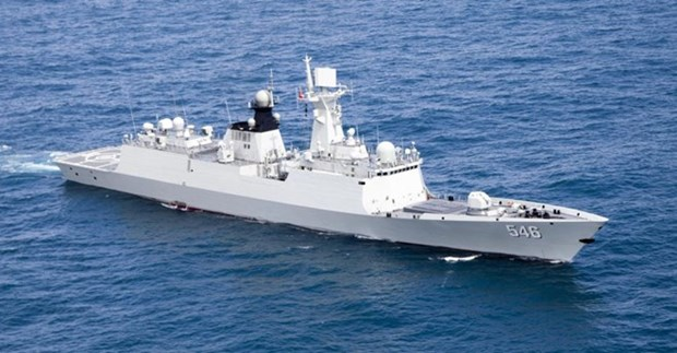 ASEAN, China hold first-ever maritime exercise hinh anh 1