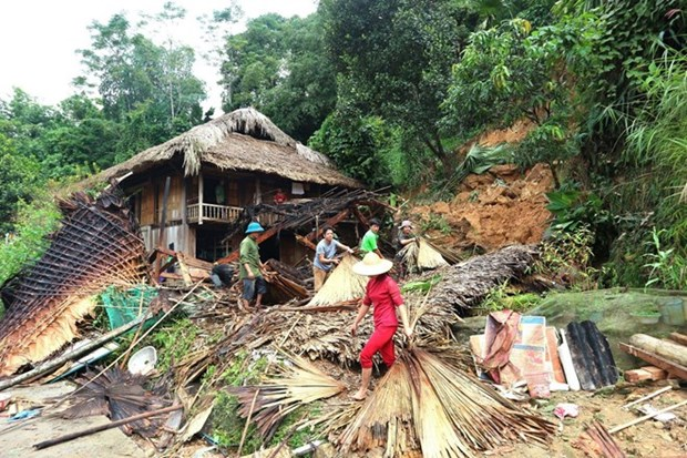 Flash flood leaves one dead, one missing in Ha Giang hinh anh 1