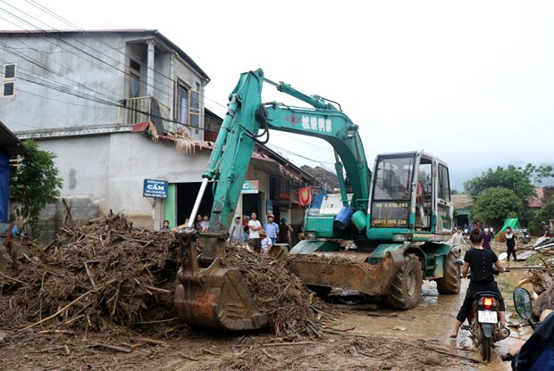 Heavy rains cause big damage to Lao Cai, Ha Giang hinh anh 1