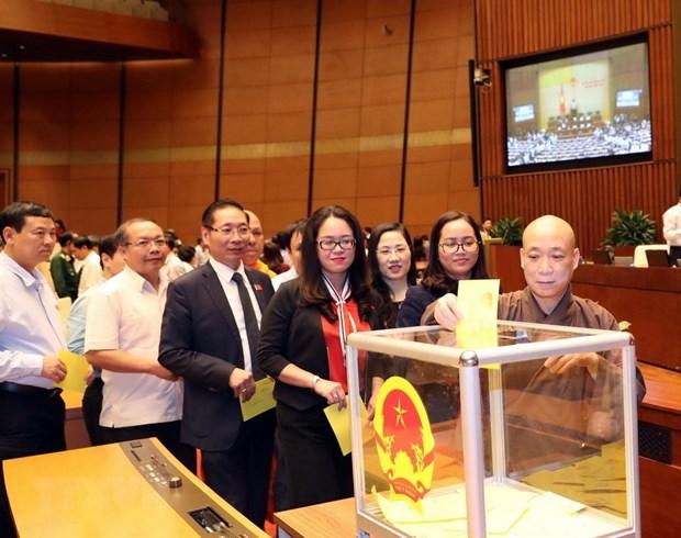 Legislators vote to elect State President hinh anh 2