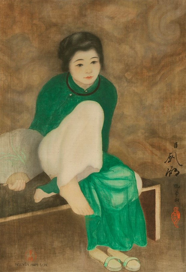 Painting by Vietnamese artist sets record at Paris auction hinh anh 1