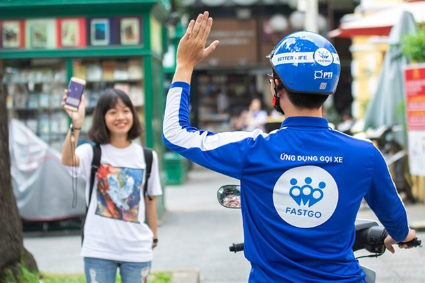 VN's ride-hailing app FastGo launched in southern provinces hinh anh 1