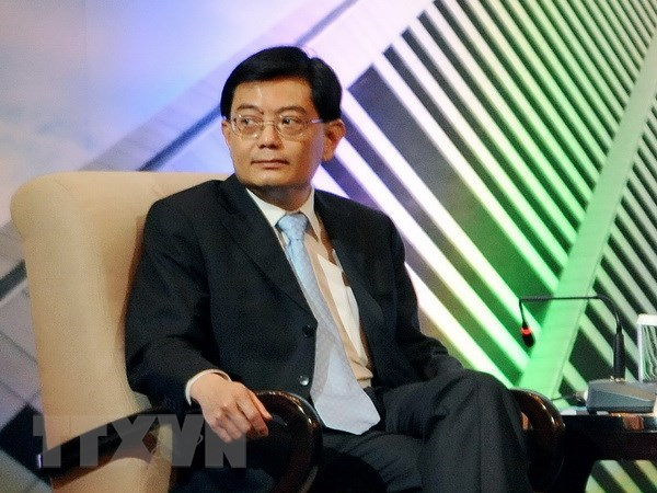 Singapore promotes Asian infrastructure construction hinh anh 1
