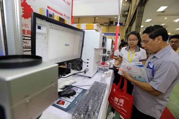 Vietnam International Industrial Fair kicks off in Hanoi hinh anh 1