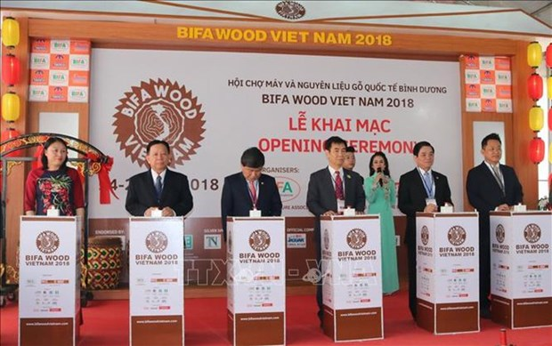 International wood fair opens in Binh Duong hinh anh 1