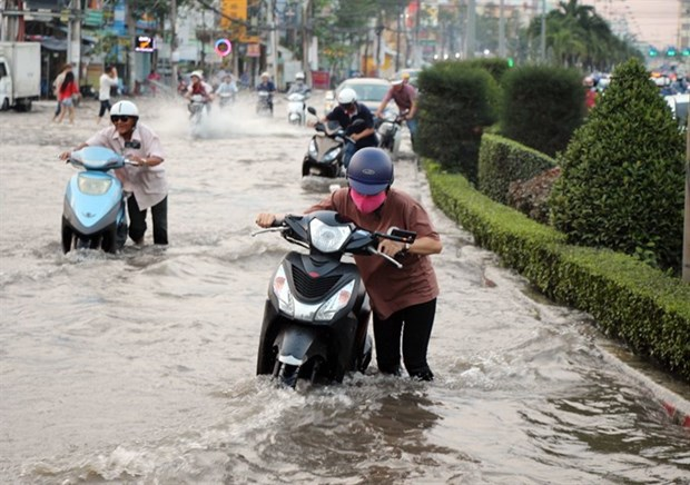 Solutions needed to ease Mekong Delta flooding hinh anh 1