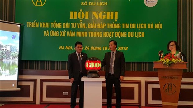 Hanoi launches telephone switchboard to improve tourism services hinh anh 1