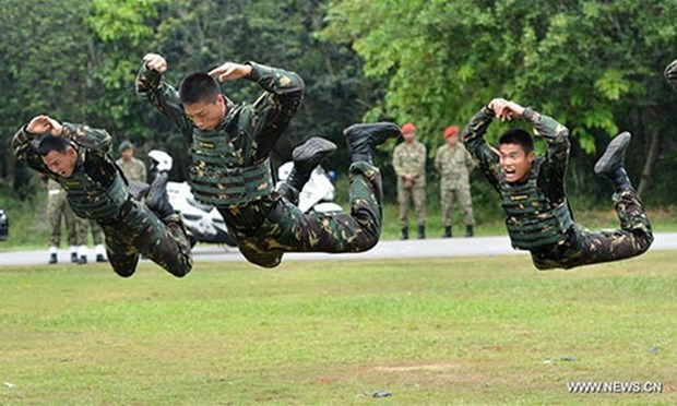 China, Malaysia, Thailand conduct joint exercise for first time hinh anh 1