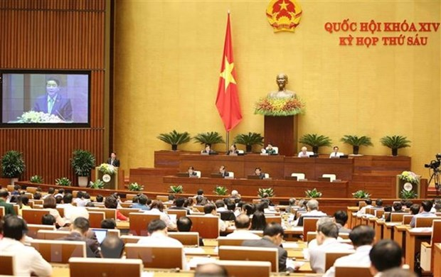 NA conducts group discussion on socio-economic affairs hinh anh 1