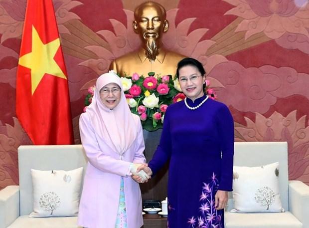Top legislator welcomes Malaysia's Deputy Prime Minister hinh anh 1