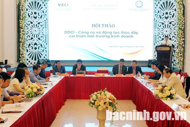DDCI - a tool to promote business climate improvement hinh anh 1