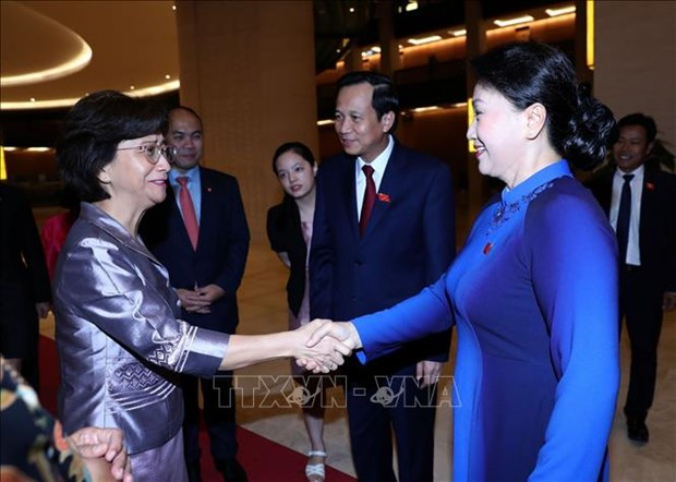 Vietnam attaches importance to promoting gender equality: NA leader hinh anh 1