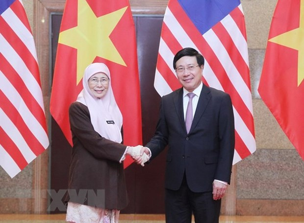 Deputy PMs call for stronger Vietnam-Malaysia strategic partnership hinh anh 1