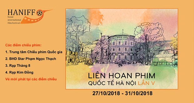 Nearly 150 movies to attend Hanoi int'l film festival hinh anh 1