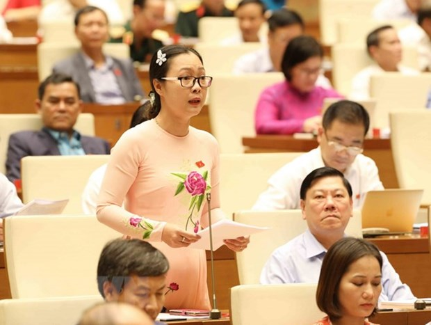 Lawmakers review socio-economic performance hinh anh 1
