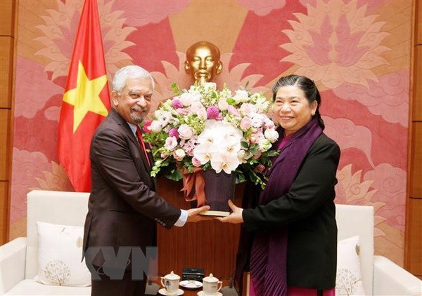 NA Vice Chairwoman: Vietnam will remain a UN responsible member hinh anh 1