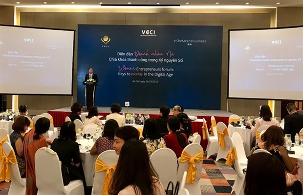 Forum to help Vietnamese women boost businesses hinh anh 1