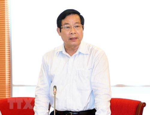 Disciplinary measure imposed on former information minister hinh anh 1