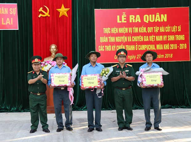 Gia Lai's team K52 continues search for soldier remains in Cambodia hinh anh 1