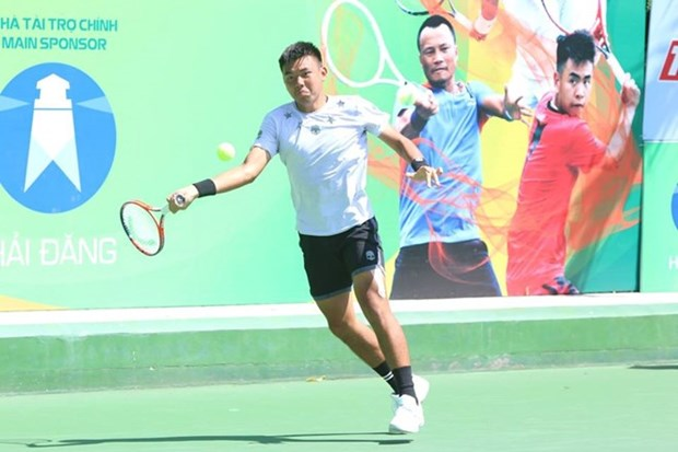 Host players win men's doubles title at Vietnam F4 Futures hinh anh 1