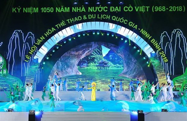 Ninh Binh opens national culture, sports, tourism festival hinh anh 1