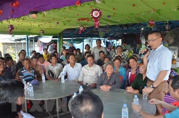 Ambassador meets Vietnamese Cambodians in Kampong Chhnang hinh anh 1