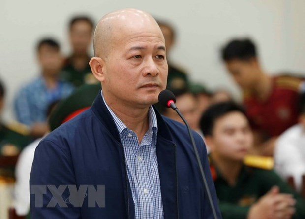 Appeal trial held for former officials of Thai Son Corporation hinh anh 1