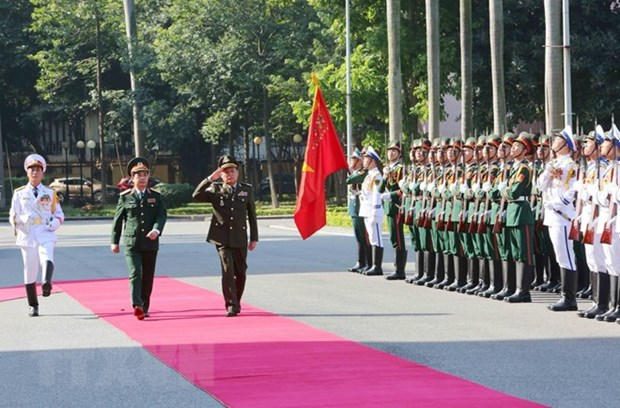 Vietnam, Cambodia seek to strengthen defence ties hinh anh 1