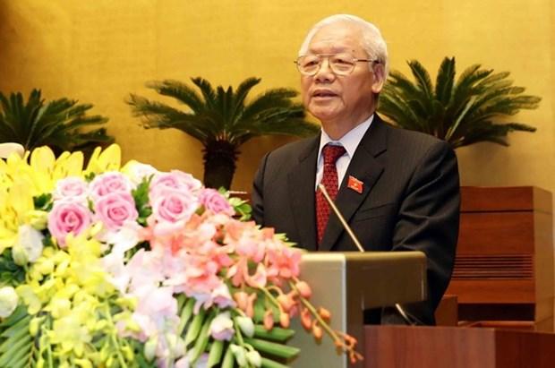 Bangladeshi, Kazakh leaders congratulate Vietnamese President hinh anh 1