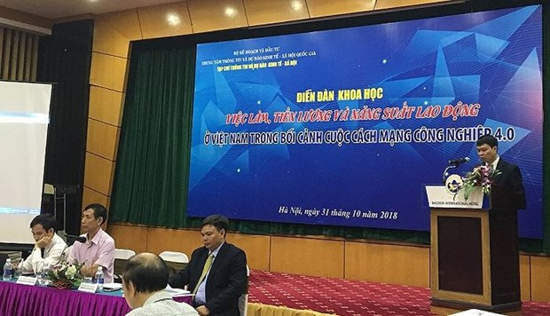 Fourth Industrial Revolution to impact employment: forum hinh anh 1
