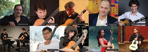 Concert gets Saigon International Guitar Festival underway hinh anh 1