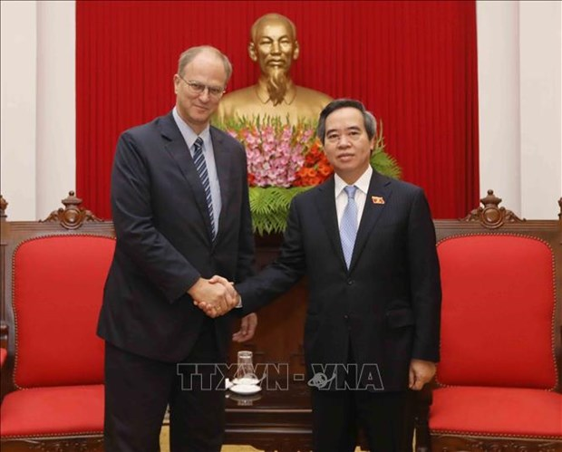 Vietnam values traditional ties with Germany: official hinh anh 1
