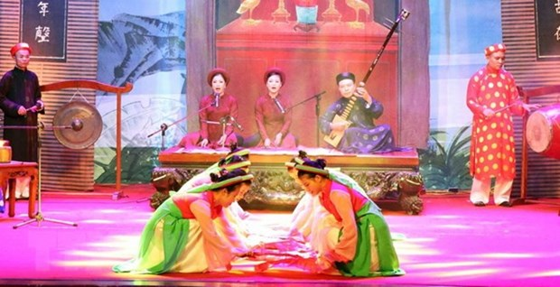 National Ca Tru Festival opens in Ha Tinh hinh anh 1