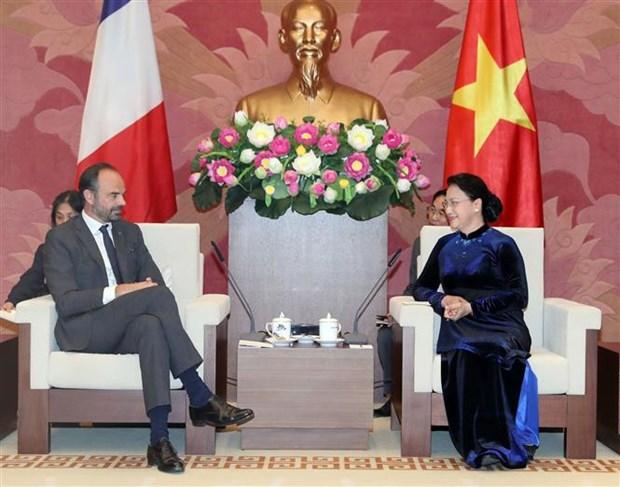 Top legislator: Vietnam treasures relations with France hinh anh 1