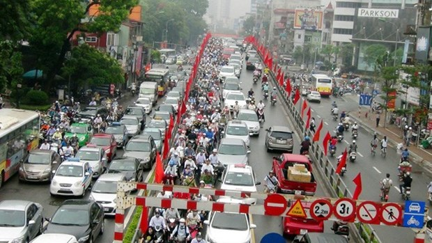 Hanoi permitted to collect fees in congested areas hinh anh 1