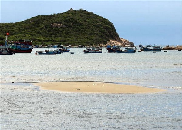 High waves damage sea embankments in central province hinh anh 1