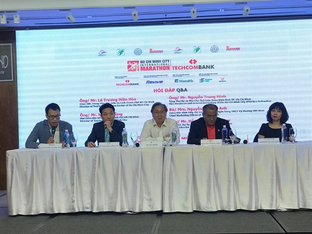 Techcombank HCM City Int'l Marathon expects 8,000 runners hinh anh 1