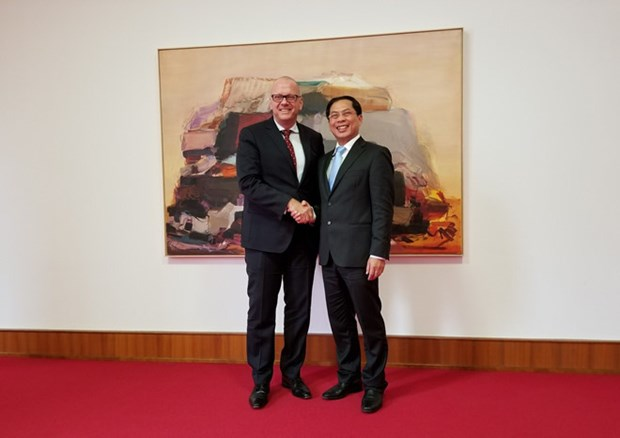 Vietnam, Germany look to foster all-around relations hinh anh 1