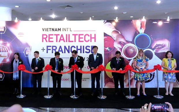 10th Vietnam Int'l Retailtech & Franchise Show underway hinh anh 1