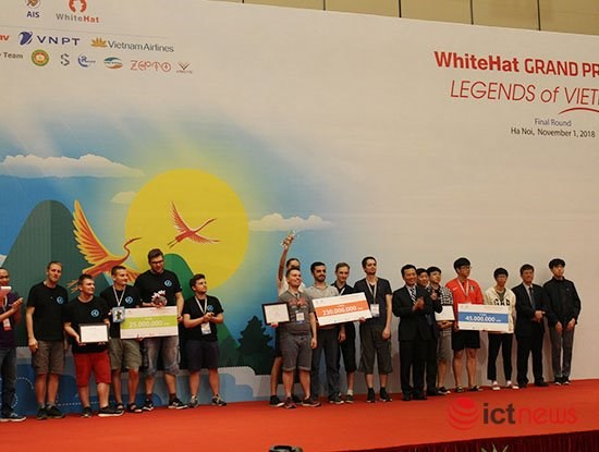 Russian team wins Whitehat Grand Prix 2018 hinh anh 1