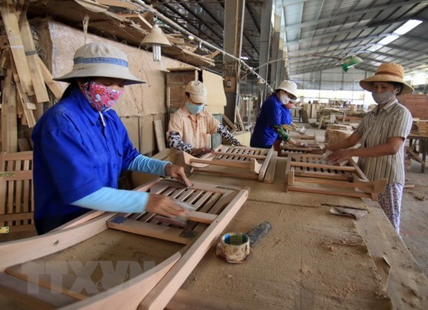 Vietnamese wood exporters to Europe number more than 400 hinh anh 1