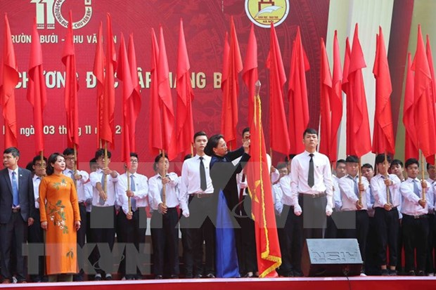 Chu Van An High School awarded Independence Order hinh anh 1