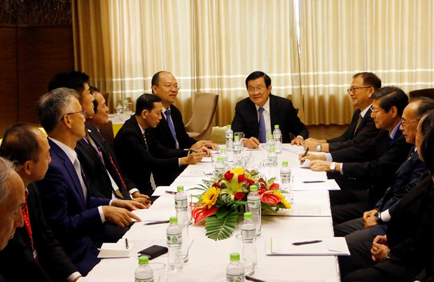 Can Tho leaders meet Japanese investors hinh anh 1