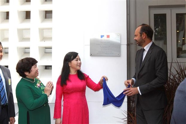 French PM attends inauguration of French medical centre in HCM City hinh anh 1
