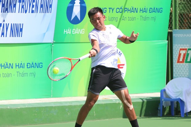 Nam becomes runner-up at Vietnam F5 Futures hinh anh 1
