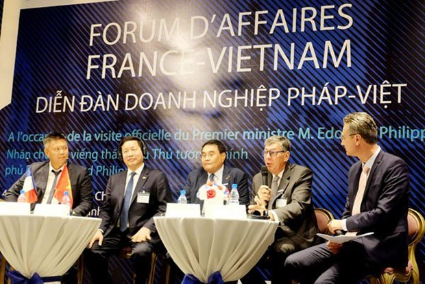 French businesses find Vietnam attractive destination hinh anh 1