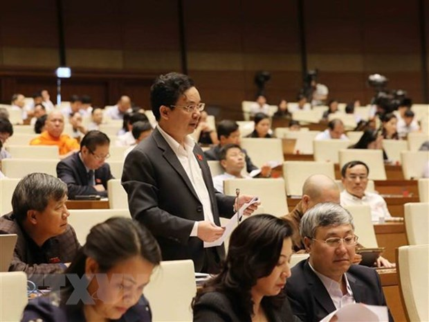 NA deputies to continue discussing CPTPP ratification on Nov. 5 hinh anh 1